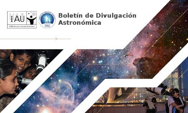 Boletín de divulgación astronómica da IAU: Marzo #1