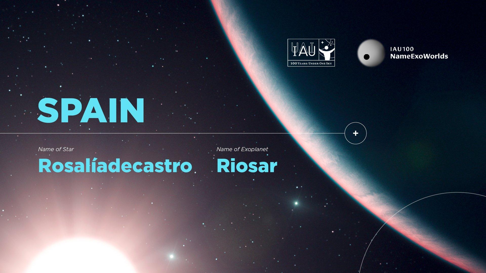 Ya es oficial: Rosalía de Castro da nombre a una estrella