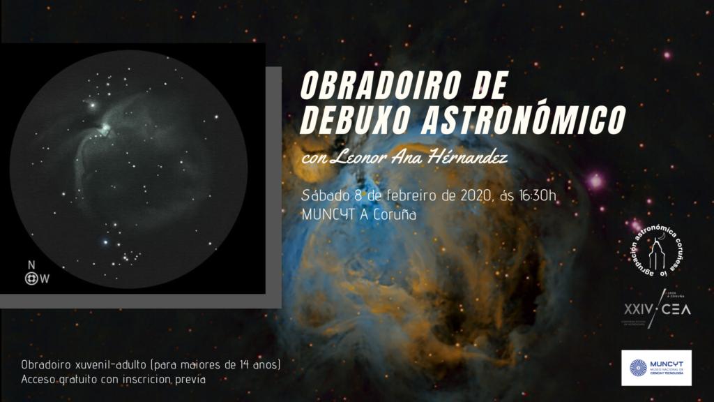 Obradoiro debuxo astronómico