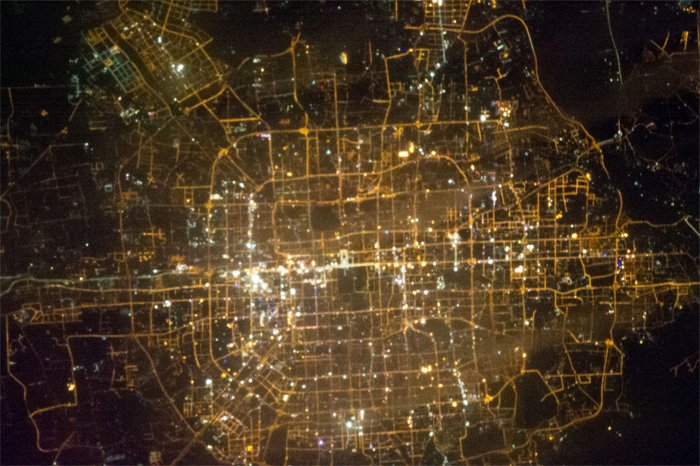 Beijing_ISS_night